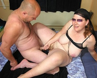 Mature couple fucking and playing