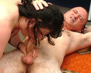 Mature couple fucking their asses off