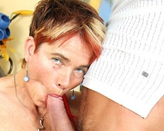 Feed momma some cock and she gets wild as hell