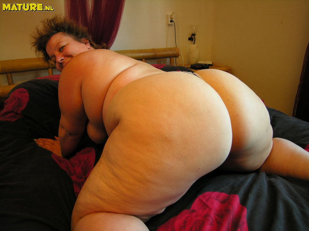 Big mature fat ass