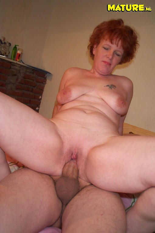 Has redhead mature pounded amusing