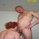 redhead gets fucked in all positions