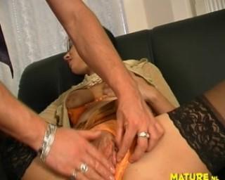 cum all over my saggy mature titties