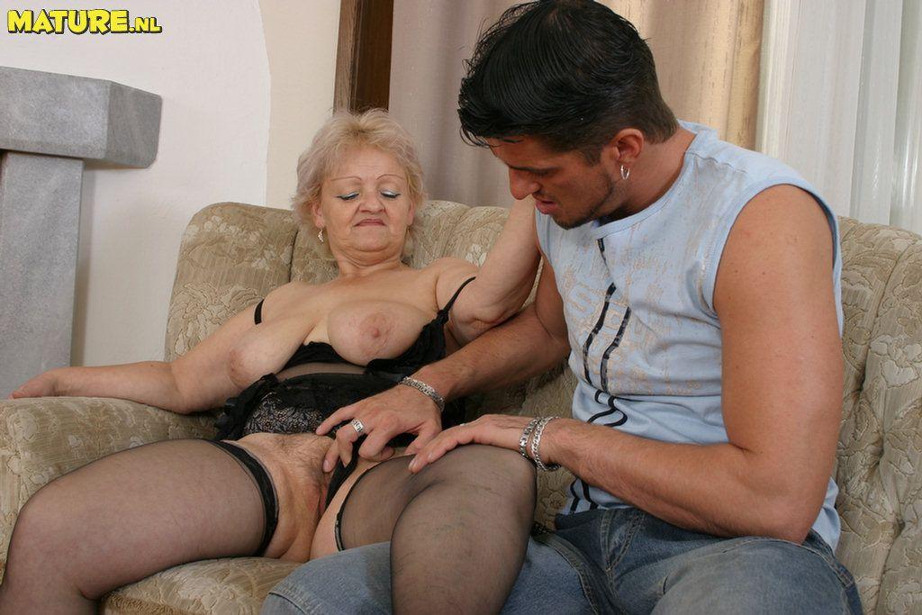 See hard cock granny