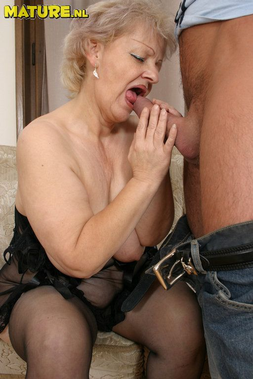 Titted Grannies Love Big Cocks