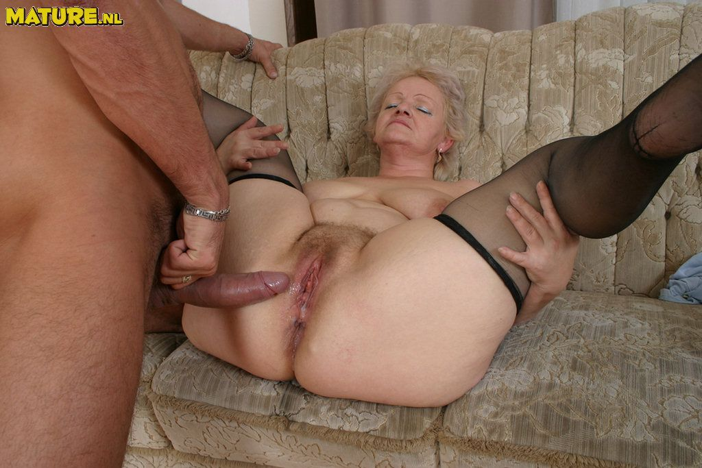 Grannies love huge cocks