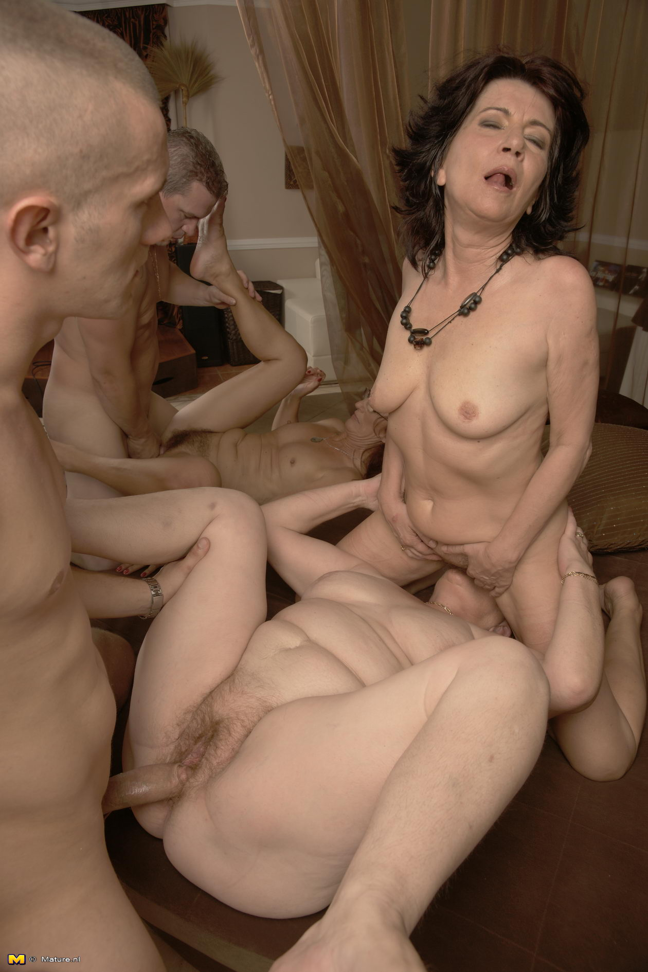 Correctly. Group mature nude grannies