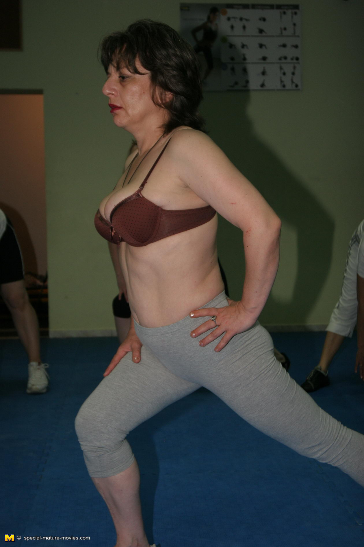 Mature Sex In Gym 50