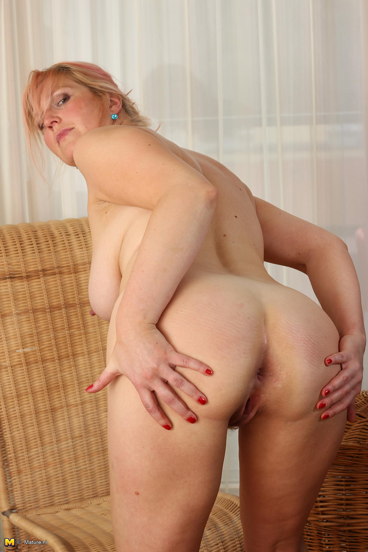 young milf alone Horny