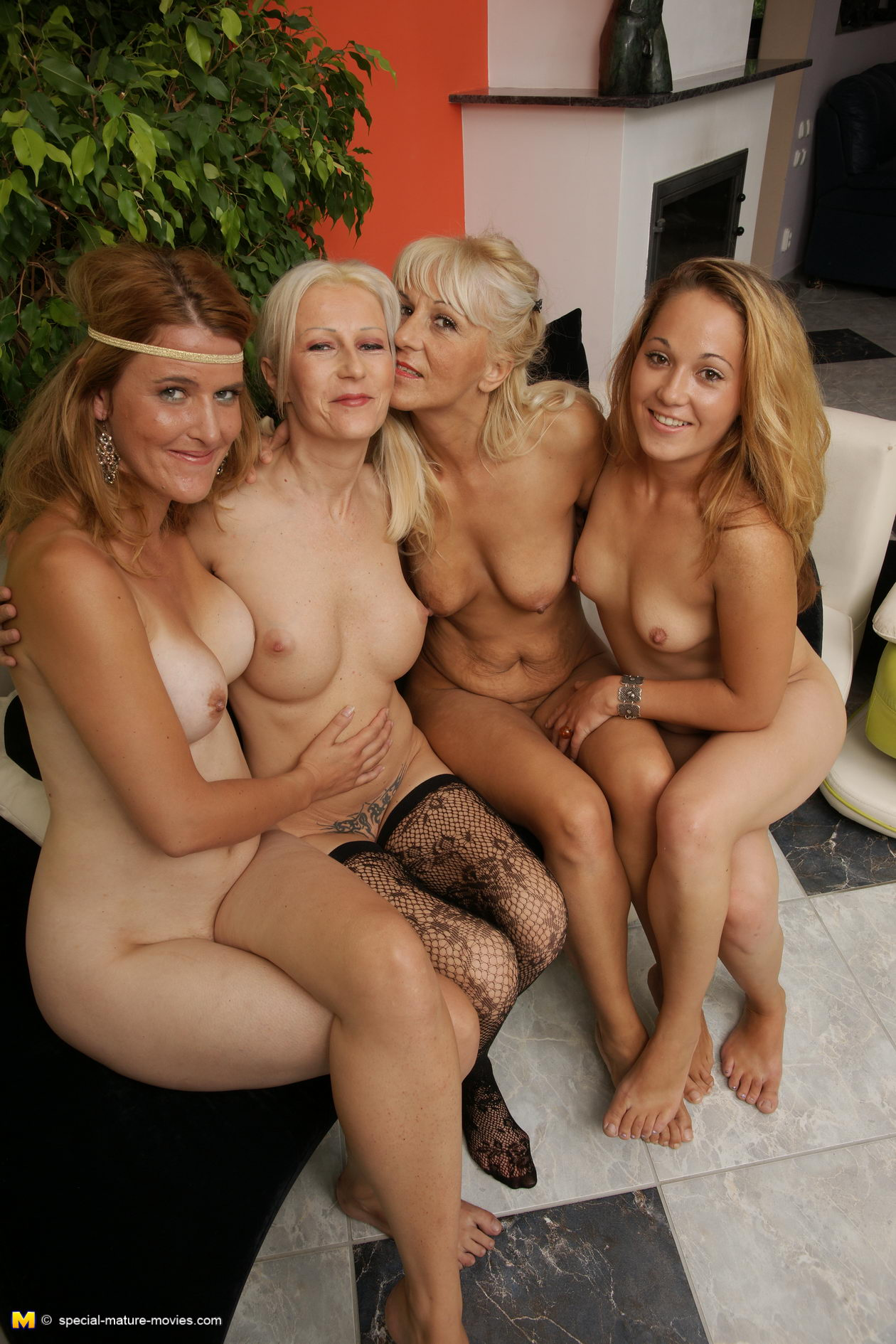 Mature group nude milf