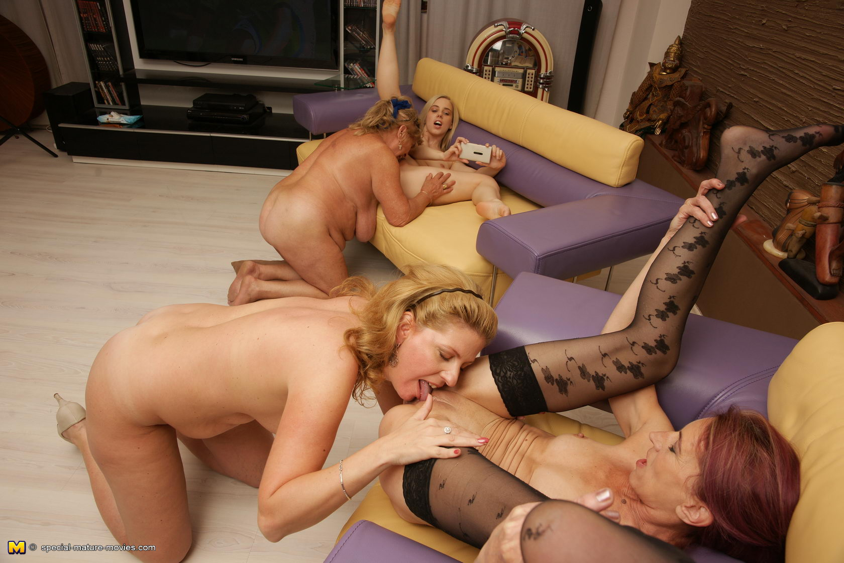 Naked girls tied andbound