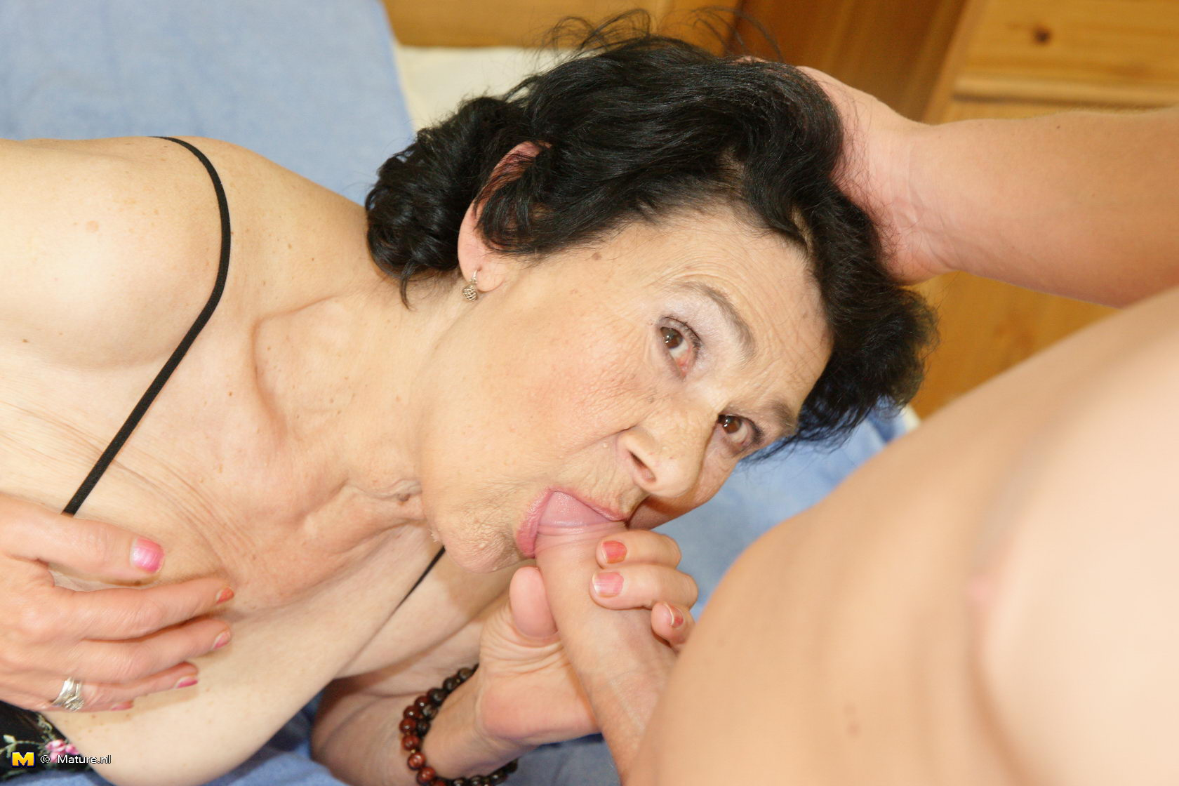 Granny full of cum