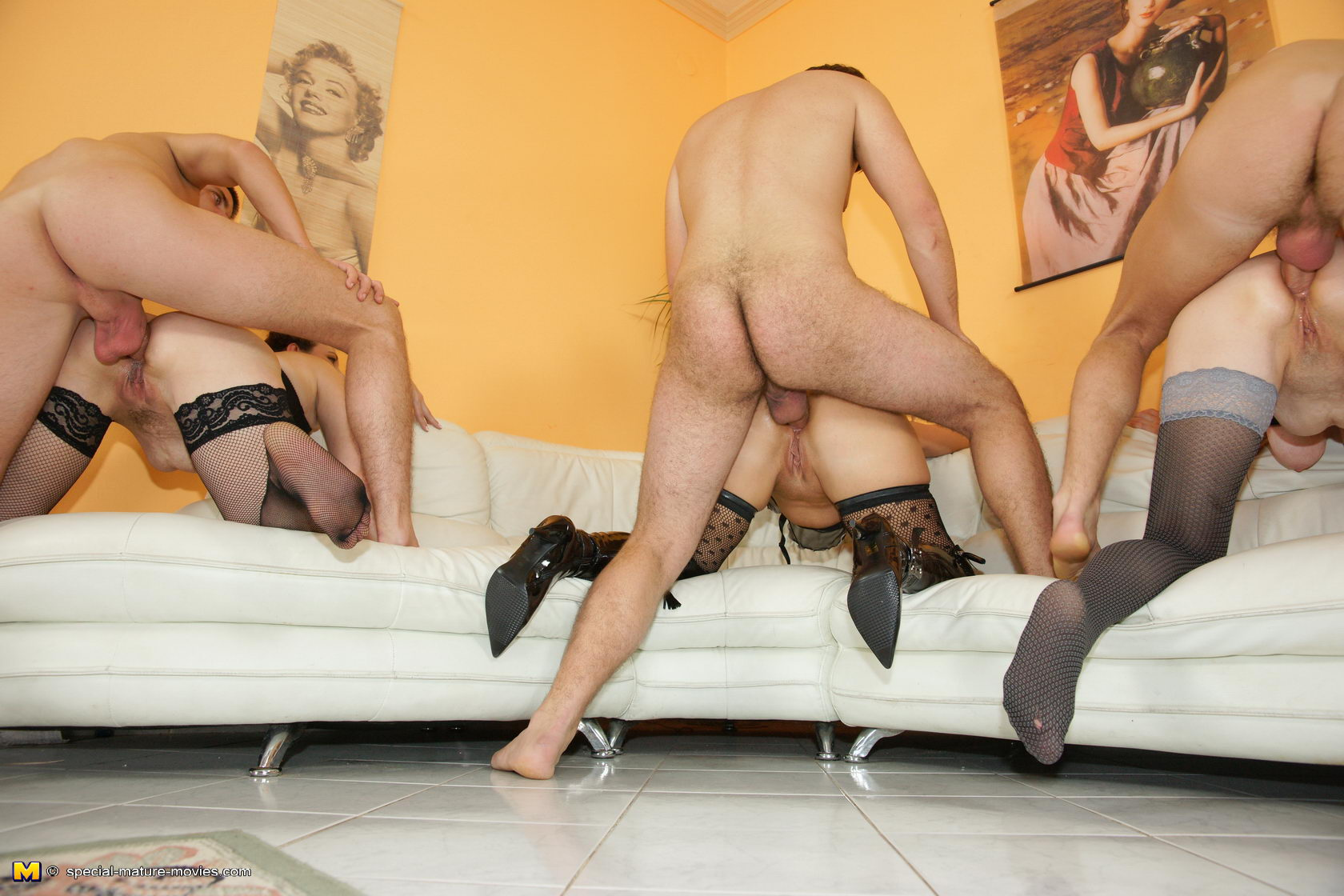 Group mature anal
